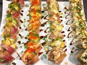 Creative sushi rolls, Off the Hook