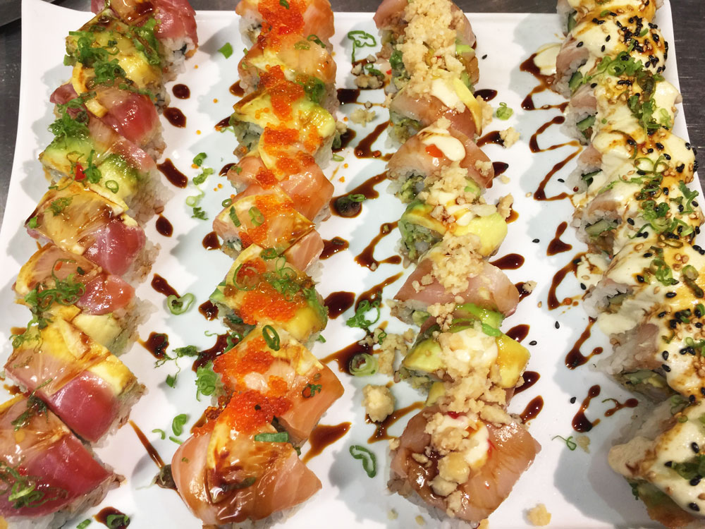 Happy hour sushi best