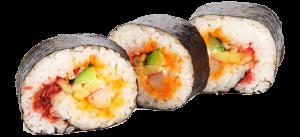vegetarian sushi rolls lake tahoe