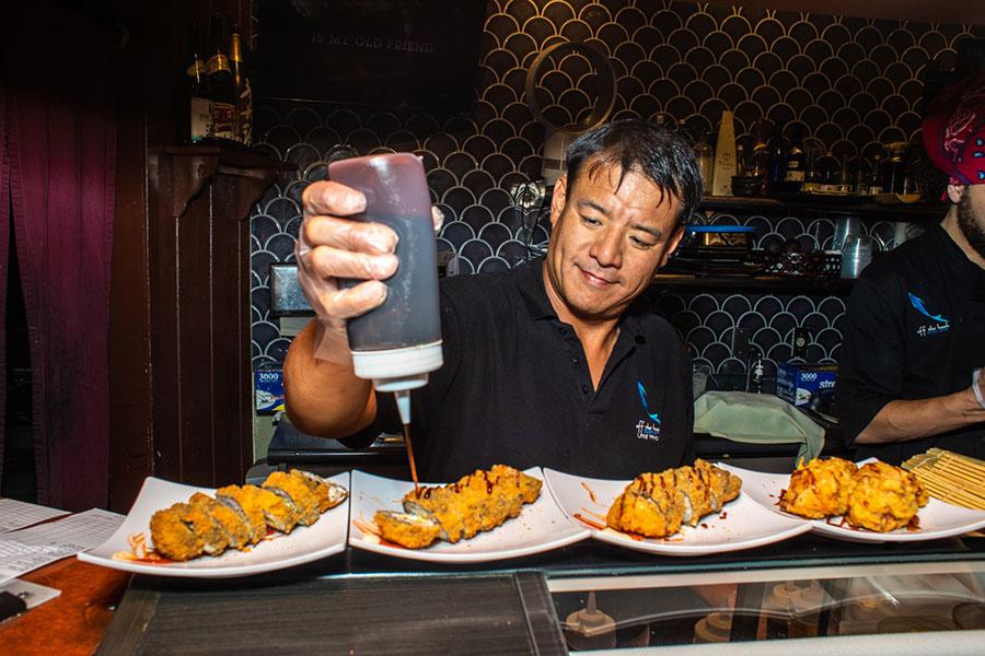 Chi Chen sushi chef